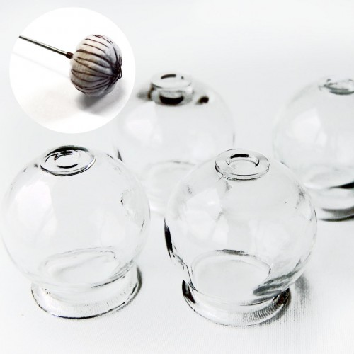 16 glass cups kit