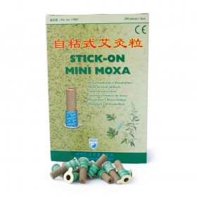 Adhesives moxa cones with cardboard support